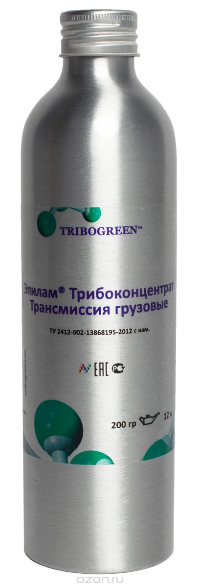 Присадка профилактическая Tribogreen «Эпилам Трибоконцентрат», трансмиссия грузовые, 200 мл